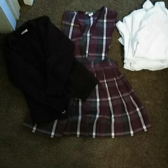 Other Flynn Ohara School Uniform Jumper W Sweater Poshmark